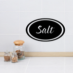 Salt oval Decal