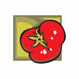 Tomatoe Sticker