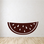 Watermelon Slice with Seeds Decal