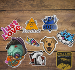 Cut to Shape Stickers