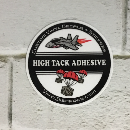 High-Tack Sticker Vinyl
