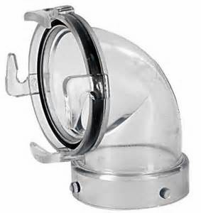 Valterra Clear 90 Sewer Adapter