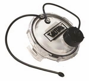 Valterra clear sewer cap with 3/4 hose male