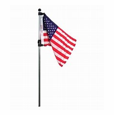 SeaSense Telescoping Flag Pole with American Flag