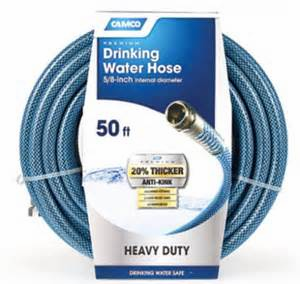 "Camco 5/8"" Dia. 50ft Premium Drinking Water Hose"