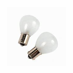 Camco Replacement Bulb 1143 Frosted (2 Pack)