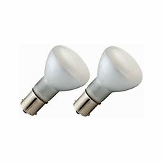 Camco Replacement Bulb - 1383 Frosted (2 Pack)