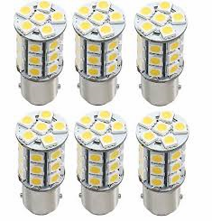 Green Value LED Bulb 1156/1141 - 6 Pack