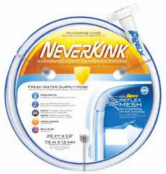 Apex neverkink 5/8id 50ft drinking water hose