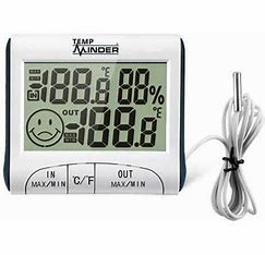 TempMinder Fridge Thermometer with Probe