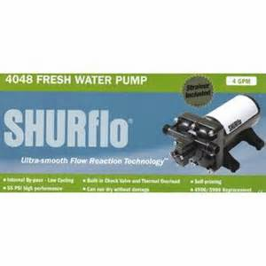 Shurflo 4900/5900 high flow fresh water pump 4gpm 55psi