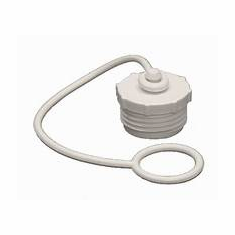 "3/4"" Garden Hose Thread Plug and Strap male"