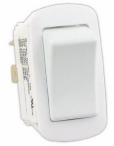 JR Water Resistant On/Off Switch (White)
