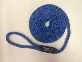 10ft 7/16 Polyproplylene with Loop Blue