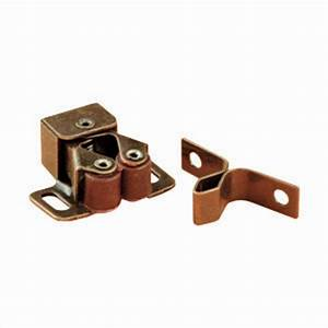 JR Double Roller Cabinet Catch W/ Prong (set of two)