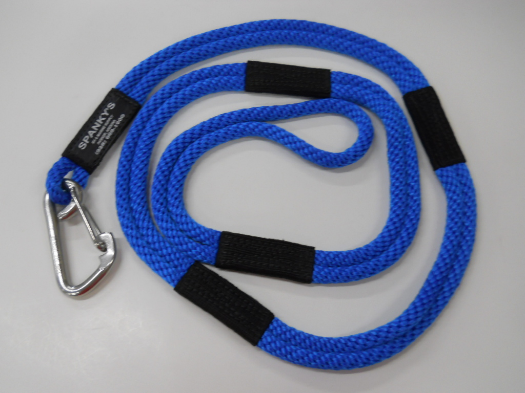 """Dock Tie, 6ft. with (4"""") clip, Blue"""
