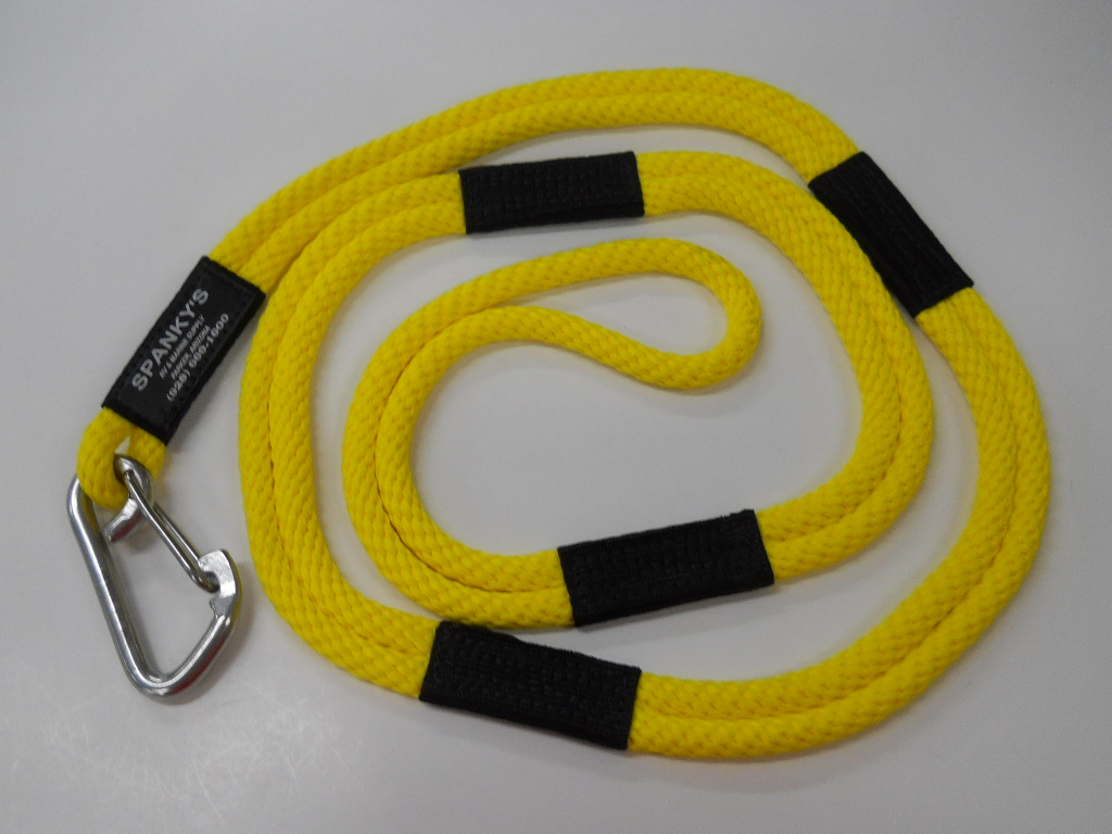 """Dock Tie, 6ft. with (4"""") clip, Yellow"""