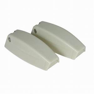 JR Baggage Door Catch White (set of two)