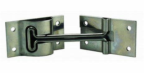 Jr 6in t-style door holder stainless