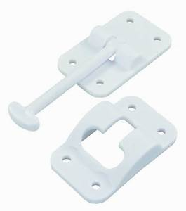 Jr 3-1/2 T-Style Door Holder-Polar White