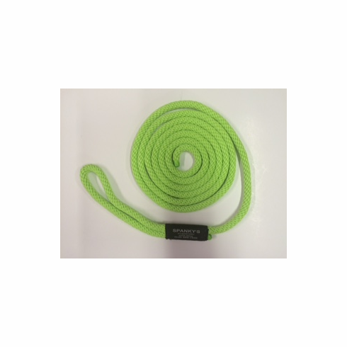 10ft 7/16 Polyproplylene with Loop Lime