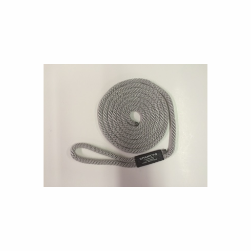 10ft 7/16 Polyproplylene with Loop Silver