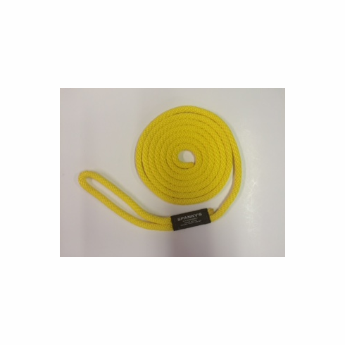 10ft 7/16 Polyproplylene with Loop Yellow