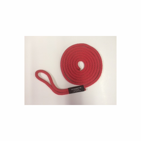 10ft 7/16 Polyproplylene with Loop Red