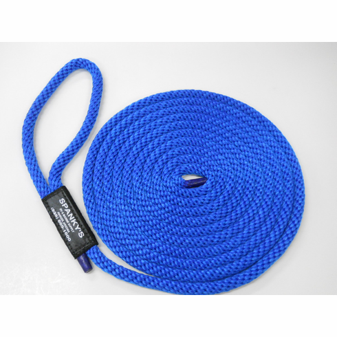 15ft 7/16 Polyproplylene with Loop-Blue