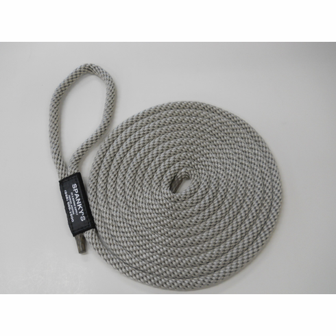 15ft 7/16 Polyproplylene with Loop-Silver