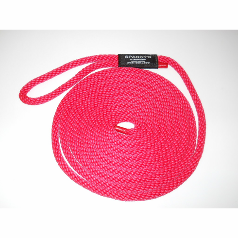 15ft 7/16 Polyproplylene with Loop-Red