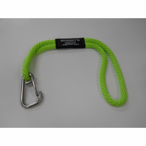 Buoy tie with standard clip-Lime