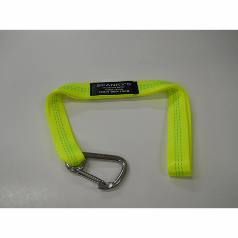 "Webbed Buoy Tie with 3"" standard clip-Lime"