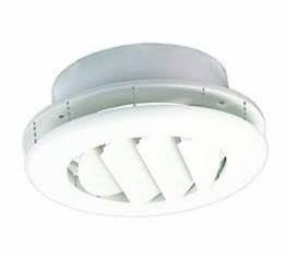 jr ceiling damper white