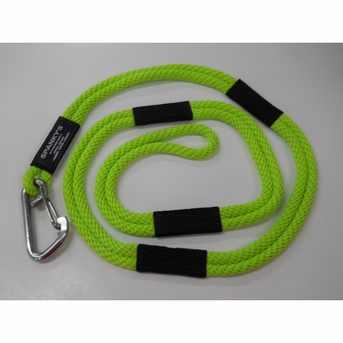 Dock Tie, 6ft. with (4') clip, Lime