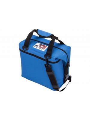 AO COOLER (12 PACK) ROYAL BLUE-CANVAS