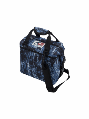 AO COOLERS (12 PACK) MOSSY OAK ELEMENTS BLUEFIN-CANVAS