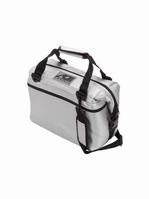 AO COOLERS (12 PACK) CARBON-SILVER