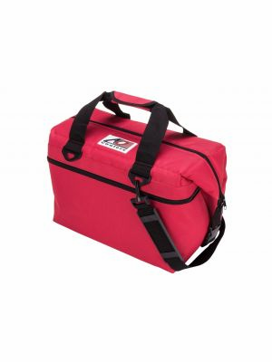 AO COOLER (24 PACK) RED-CANVAS