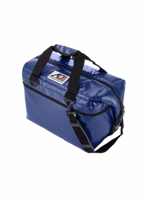 AO COOLER (24 PACK) ROYAL BLUE-VINYL