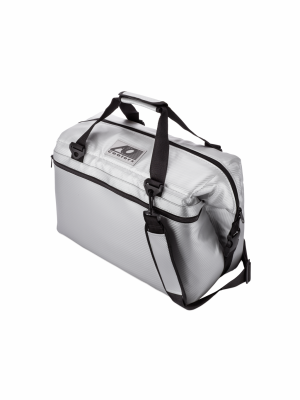 AO COOLER (24 PACK) CARBON-SILVER