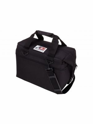 AO COOLER (24 PACK) BLACK-CANVAS