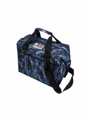 AO COOLER (24 PACK) MOSSY OAK BLUEFIN-CANVAS