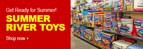 Spanky's Summer River Toys