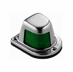 Attwood Deck Mount Sidelight, Green
