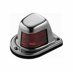 Attwood Deck Mount Sidelight, Red