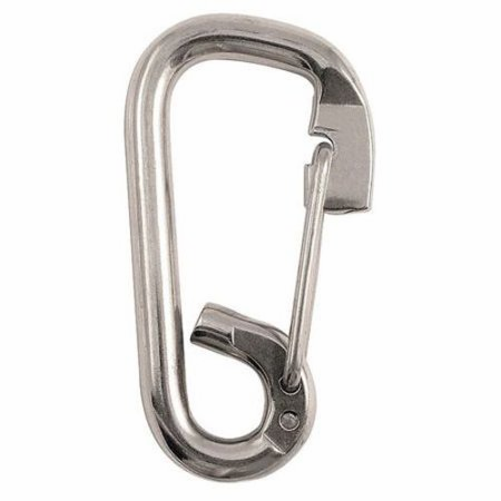 4 in Stainless Steel Spring Snap-Heavy Duty