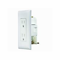 Diamond Self-Contained Dual Outlet with Cover Plate