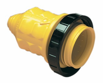 ParkPower Weatherproof Cover with Threaded Ring 30A 125V