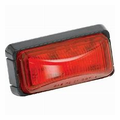 Wesbar Waterproof Market/Clearance Lamp (Red)